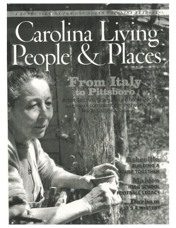 Carolina Living Nov 2008 - Siglinda Scarpa