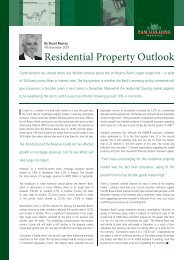 Residential Property Outlook - Pam Golding Properties