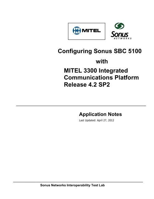 Mitel 3300/SX-200 ICP Controller