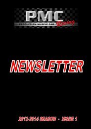 Correspondence from Members - Production Muscle Car