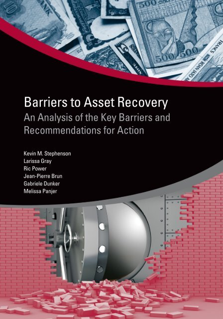 Barriers to Asset Recovery - ISBN: 9780821386606 - World Bank