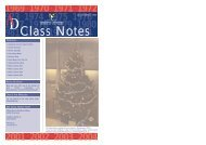 Class Notes - WINTER 2004 - University of Abertay Dundee