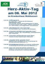 Herz-Aktiv-Tag 06.05.2012 - Bvs-waldsassen.de