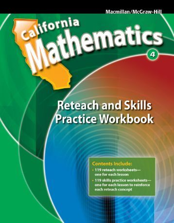 Reteach and Skills Practice Workbook