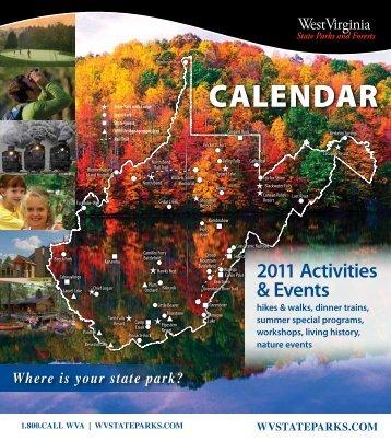 CALENDAR - West Virginia State Parks