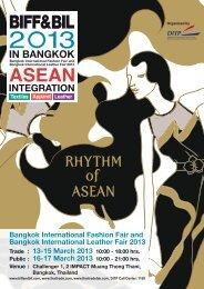 Bangkok International Fashion Fair and Bangkok International ...