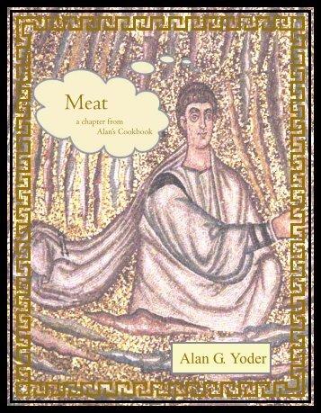 Meat - Alan's Cookbook
