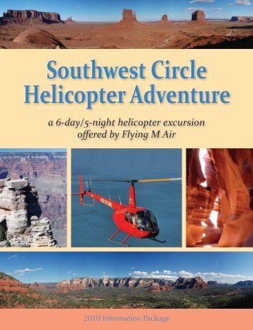 Southwest Circle Helicopter Adventure - Flying M Air