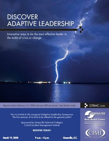 Adaptive Leadership Conference - Defense and the National Interest