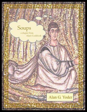 Soups - Alan's Cookbook