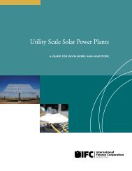 Utility Scale Solar Power Plants: A Guide  for - IFC