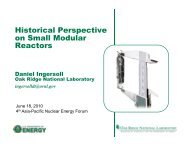 Historical Perspective on Small Modular Reactors - Berkeley ...