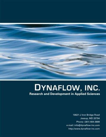 Company Brochure - Dynaflow, Inc.