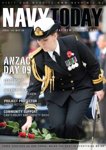 Navy Today May 09 | Issue 143 - Royal New Zealand Navy