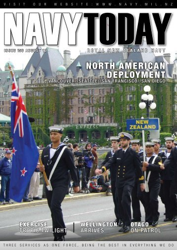 Navy Today August 2010 - Royal New Zealand Navy