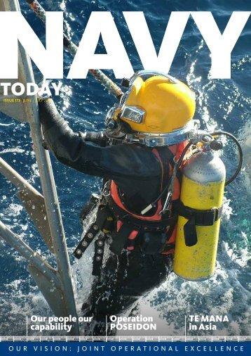 Jun - Jul 2013, Issue 173 - Royal New Zealand Navy
