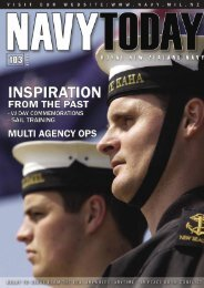 NT 103.indd - Royal New Zealand Navy