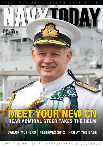 Dec 2012 - Jan 2013, Issue 170 - Royal New Zealand Navy