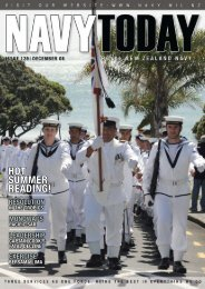 Navy Today Issue 139 December 2008 - Royal New Zealand Navy