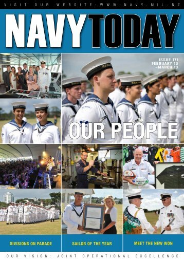 Feb - Mar 2013, Issue 171 - Royal New Zealand Navy