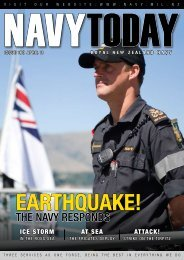 Navy Today Issue 160 April 2011 - Royal New Zealand Navy
