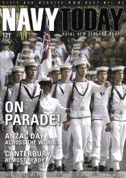 CANTERBURY - ANZAC DAY - - Royal New Zealand Navy