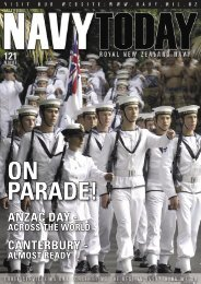 CANTERBURY - ANZAC DAY - - Royal New Zealand Navy