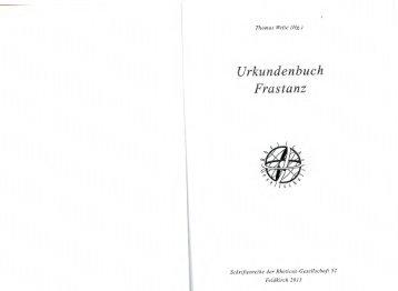 Urkundenbuch