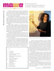 MAWA may june july 09 - Mentoring Artists for Women's Art