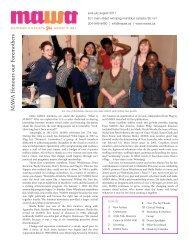 MAWA Newsletter Summer 2011 - Mentoring Artists for Women's Art