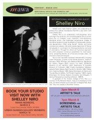 MAWA Newsletter Spring 2004 - Mentoring Artists for Women's Art