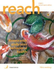 PDF version of the complete issue here - Rosecrance Health Network