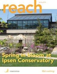 Reach Spring 2013 edition - Rosecrance Health Network
