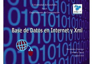 BDnet - Universidad de Carabobo, FACYT - computacion