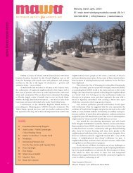 MAWA Newsletter Spring 2009 - Mentoring Artists for Women's Art