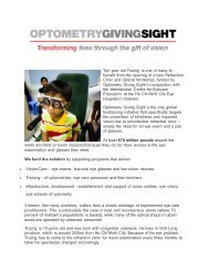 Ten year old Truong is one of many to benefit from the opening of a ...