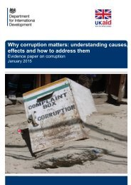 corruption-evidence-paper-why-corruption-matters