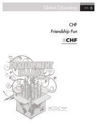 Global Citizenship 6 CHF Friendship Fun