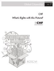 Global Citizenship 7 CHF What's Rights with this Picture?