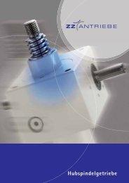Hubspindelgetriebe - ZZ-Antriebe GmbH