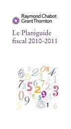 Planiguide fiscal 2005-2006 - Université du Québec