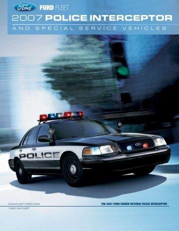 2007 POLICE INTERCEPTOR - Crown North America