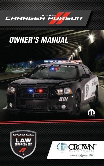 Owner's Manual [pdf] - Crown North America