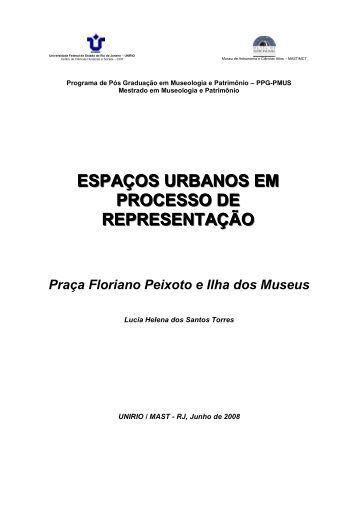 Lucia Helena dos Santos Torres - PPG-PMUS - Museu de ...