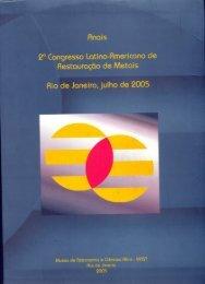 Anais 2º Congresso Latino-Americano de Restauraçao de Metais