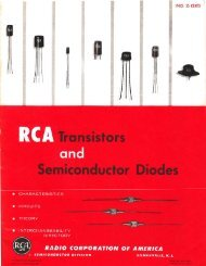 RCA Transistors and Semiconductor Diodes - N4trb.com