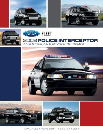 2008 POLICE INTERCEPTOR - Crown North America