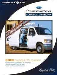 FREE Commercial Van Equipment - Crown North America