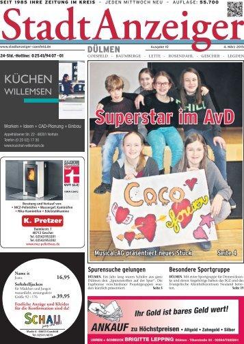 Stadt Anzeiger Dülmen kw 10