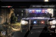 2012 Dodge Charger Pursuit Catalog
